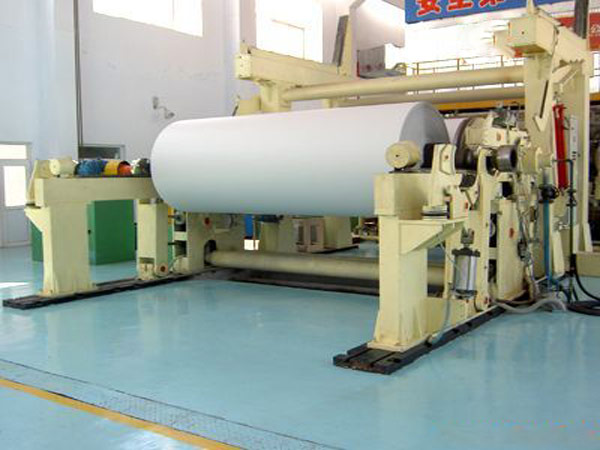 BT-1200 cylinder mould paper machine