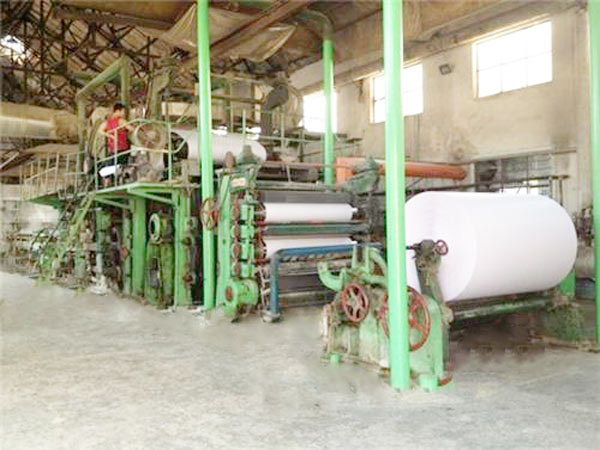 BT-1200 paper recycling machine