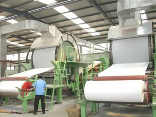 BT-1600 fourdrinier paper making machine