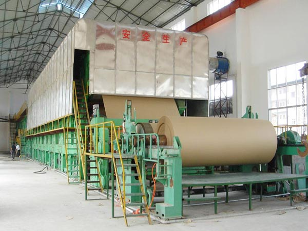BT-1600 kraft paper making machine