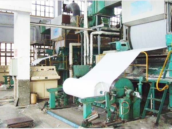BT-1800 fourdrinier paper making machine