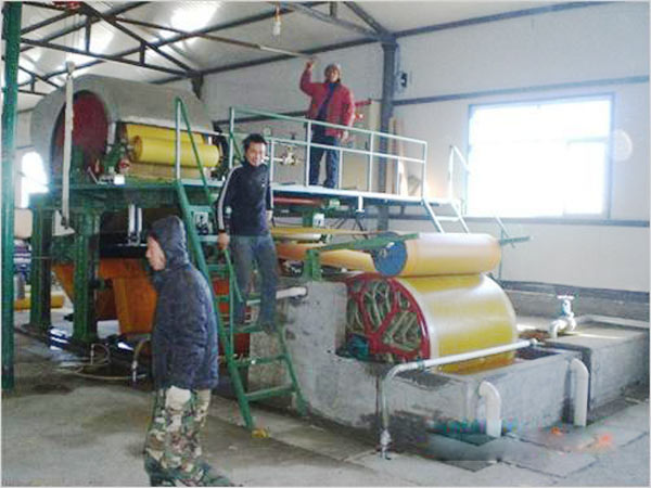 BT-1800 paper cover making machine