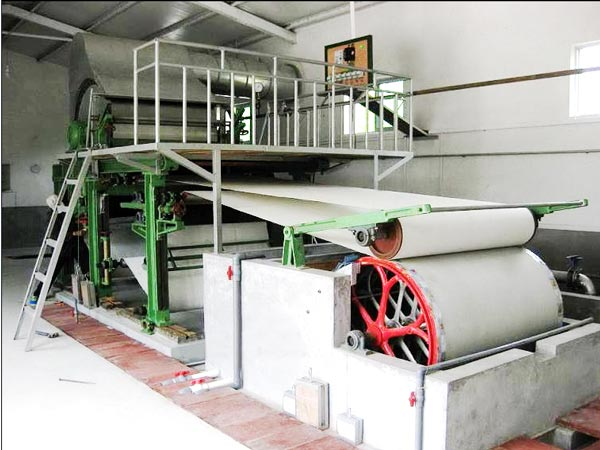 BT-787 toilet paper making machine