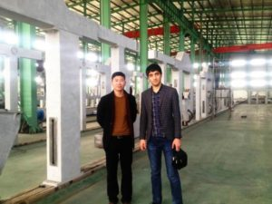 uzbekistan customer visit our factory